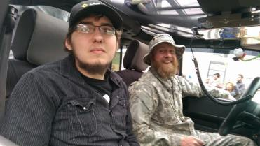 Zombie Outbreak Response Team driver and support. Yep, he's a part of my plan.